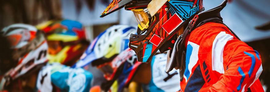 motocross en compétition